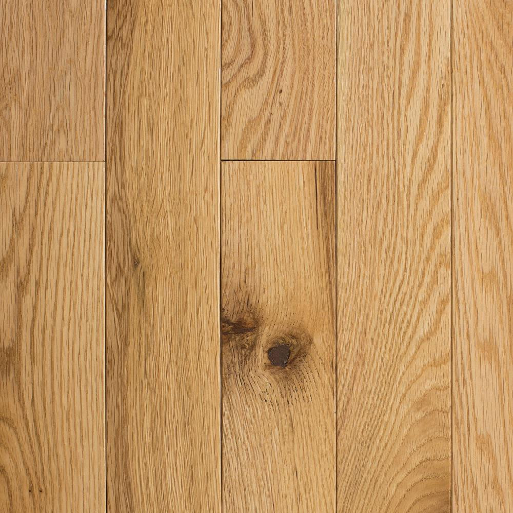 2 1 4 Oak Hardwood Flooring Unfinished Of Red Oak solid Hardwood Hardwood Flooring the Home Depot Intended for Red Oak Natural 3 4