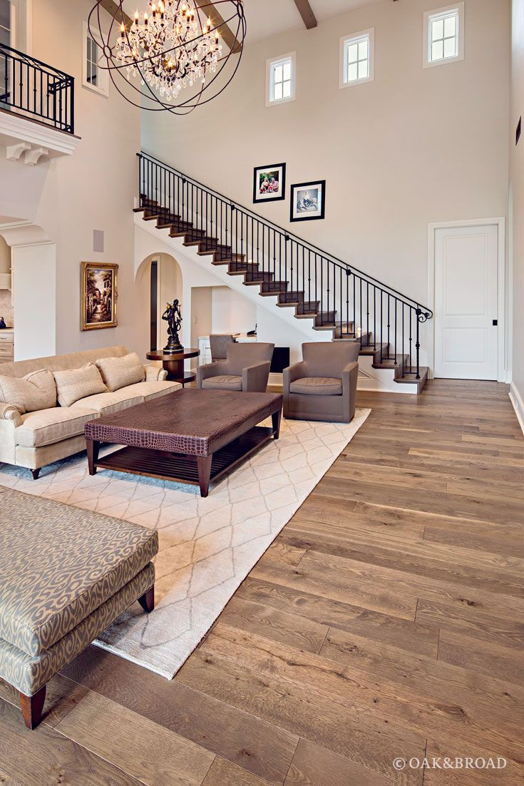 2.25 oak hardwood flooring of 6956 best homey you dont know me images on pinterest farmhouse inside custom wide plank hardwood floor by oak broad in living room of arizona home