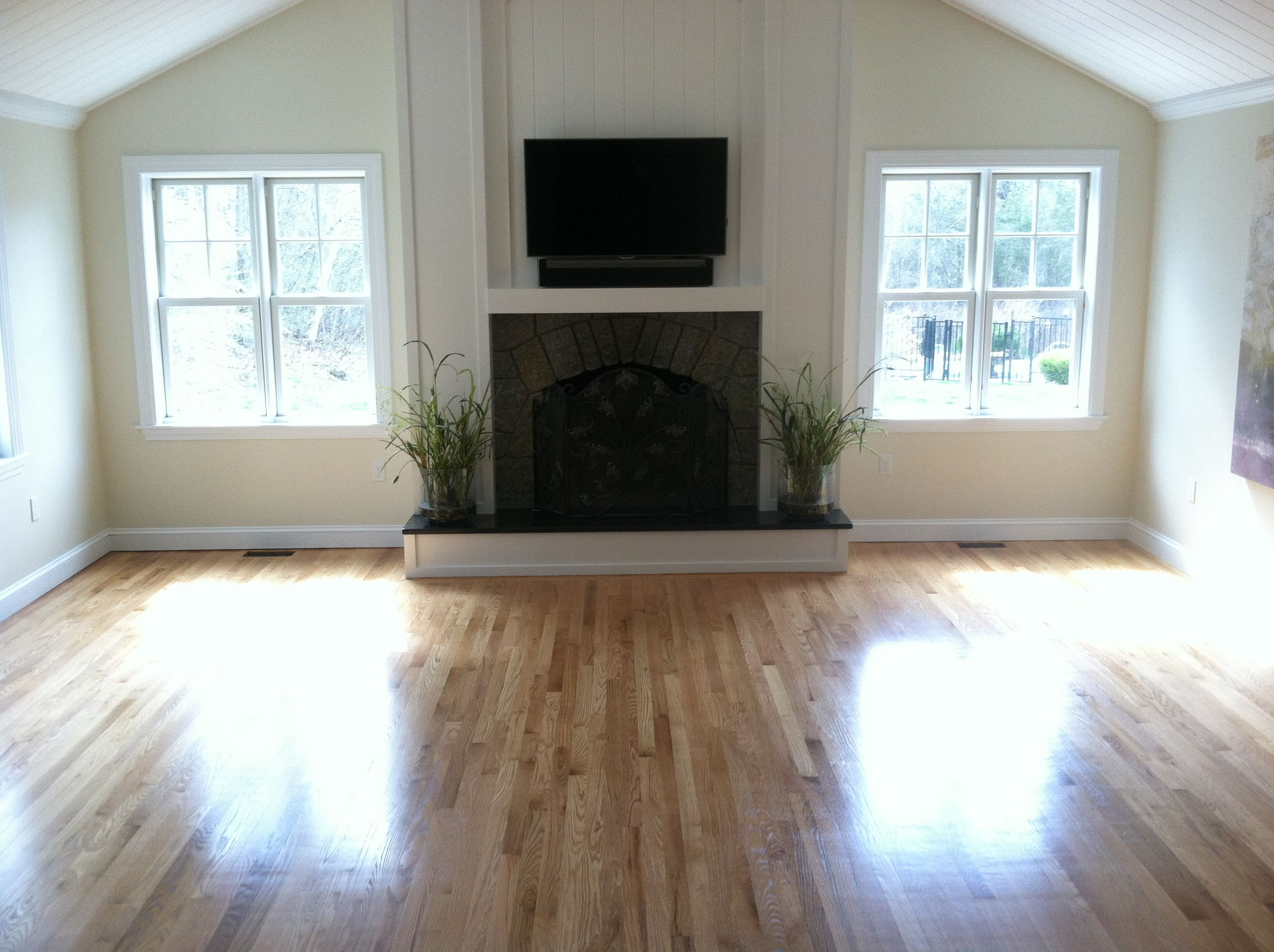 3 4 inch oak hardwood flooring of select and better red oak flooring with 3 coats of bona woodline with regard to select and better red oak flooring with 3 coats of bona woodline polyurethane semigloss floor finish