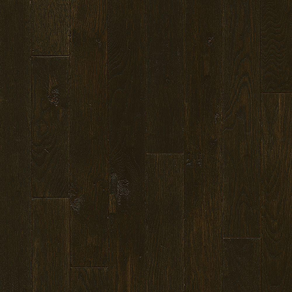 3 4 solid hardwood flooring of red oak solid hardwood hardwood flooring the home depot regarding plano oak espresso 3 4 in thick x 3 1 4 in