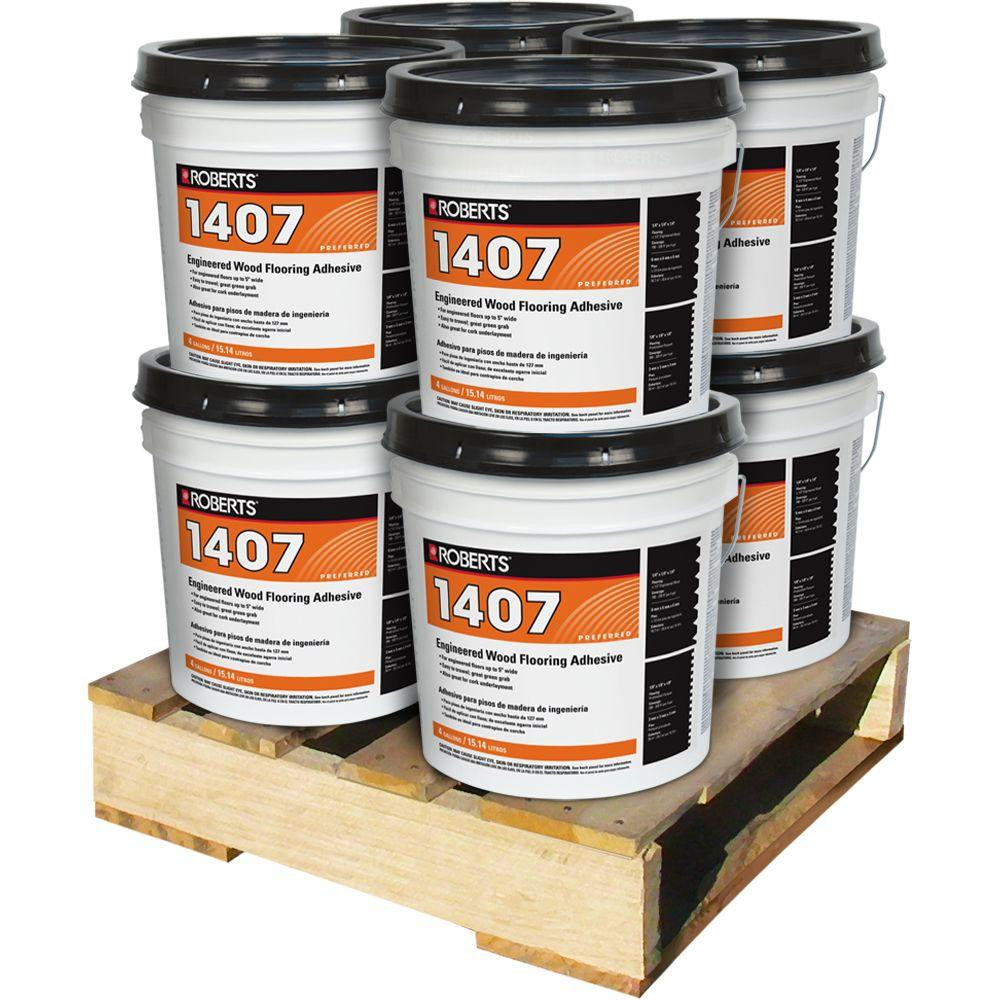 3 8 vs 3 4 hardwood flooring of vinyl adhesives adhesives the home depot pertaining to 4 gal engineered wood flooring glue adhesive 8 pail pallet