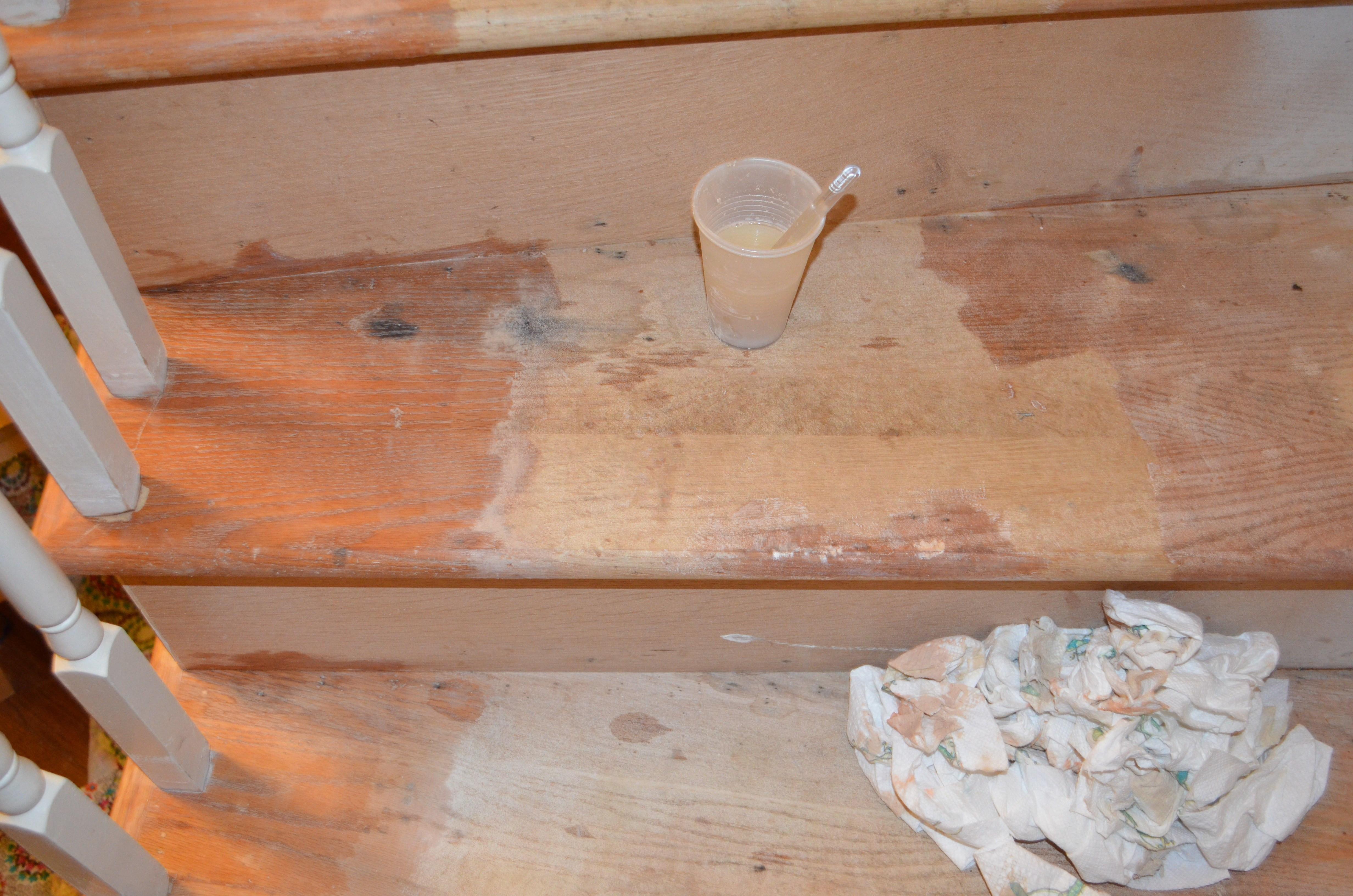 5 16 hardwood floor nailer of upstairs hallway 1 installing hardwood floors with regard to staircase 4 filling holes sanding stripping