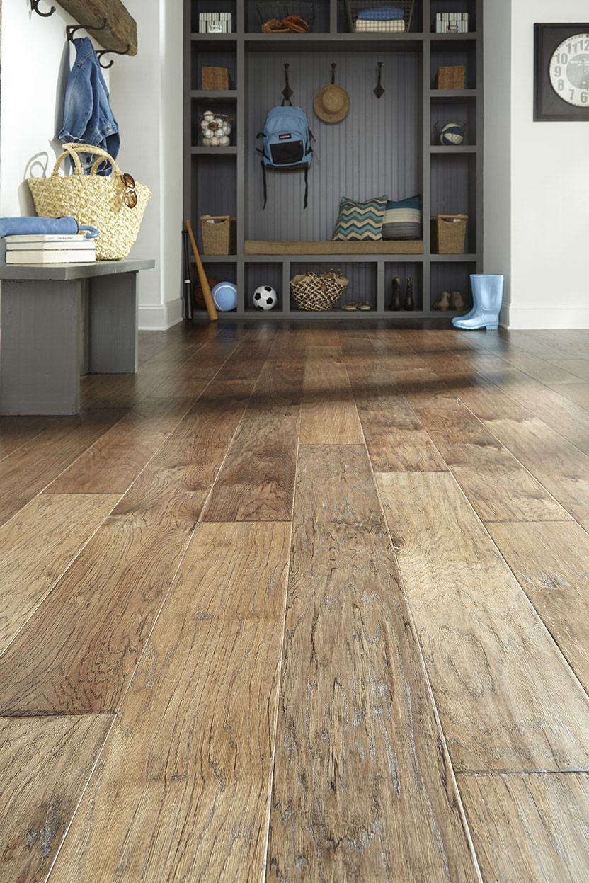 5 engineered hickory hardwood flooring in germain of esteem slate under construction pinterest flooring hardwood with impressions esteem slate prefinished hickory hardwood engineered 7 wide width rustic style hand scraped mud room entry