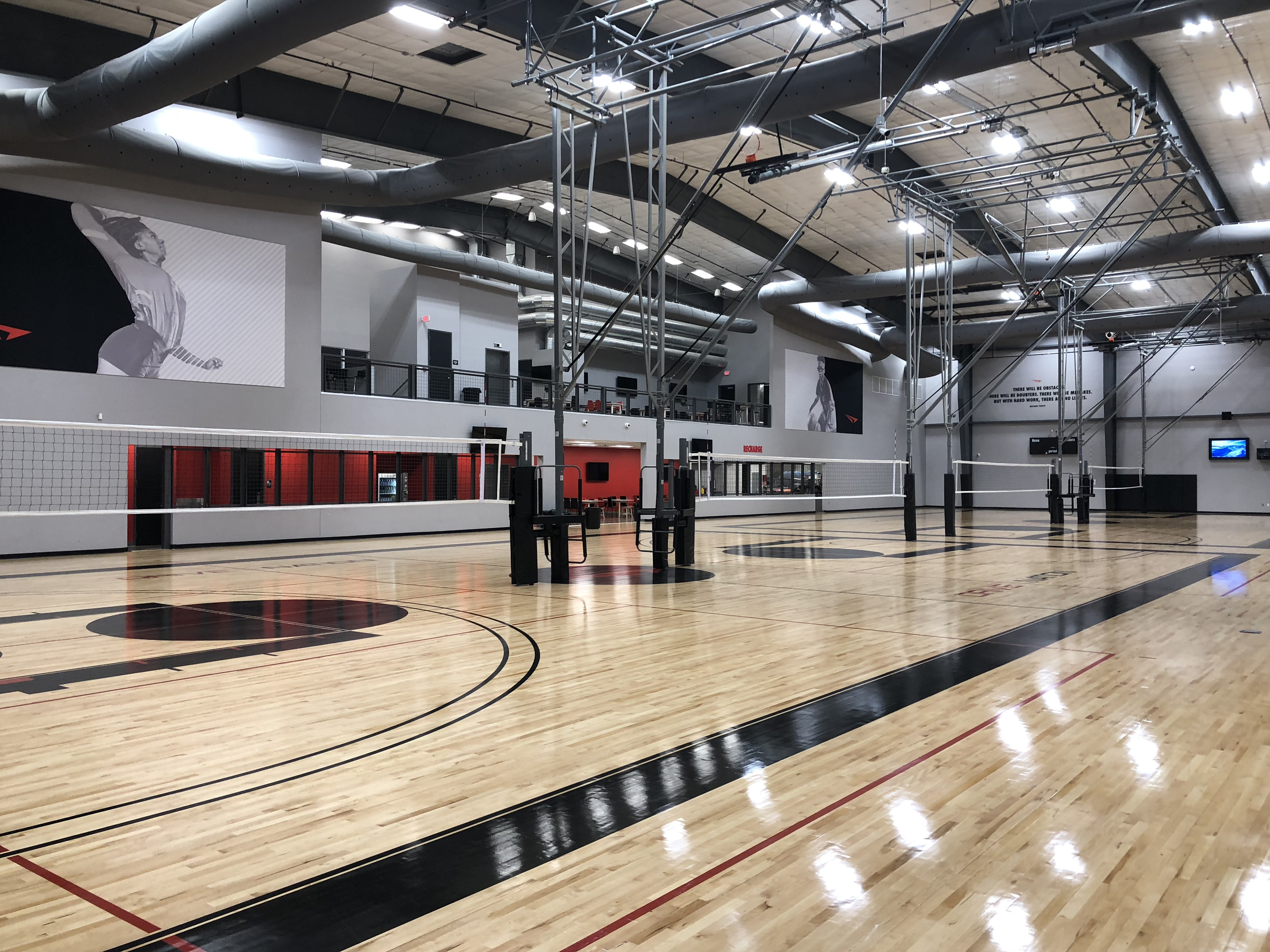 a to z hardwood flooring of volleyball gared throughout view
