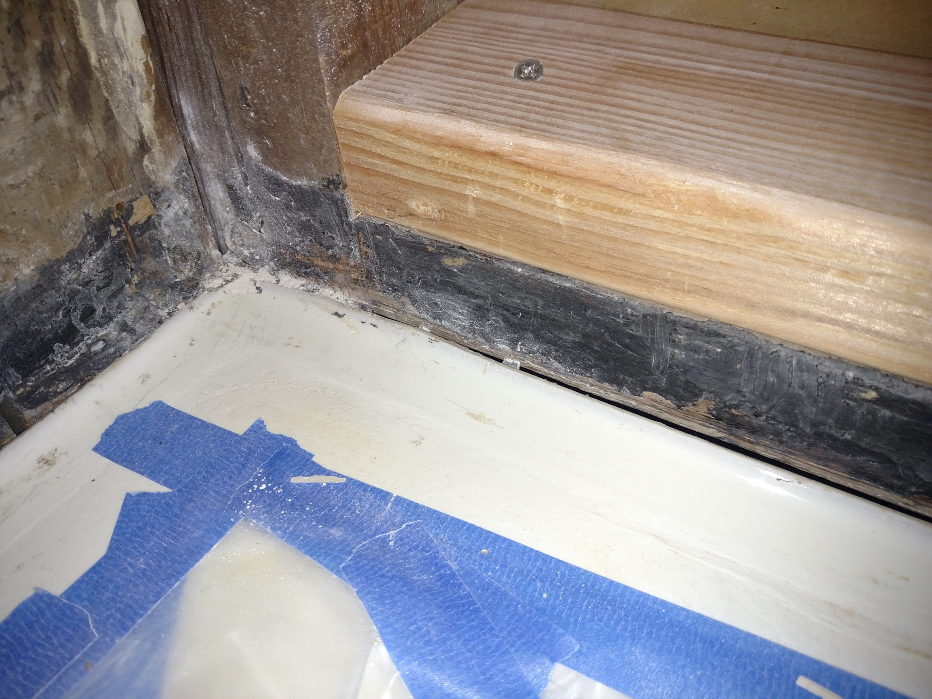 acceptable gap in hardwood floor of drywall to backerboard transition in tiled showers regarding thanks for all your articles and comment responses ive read through many and learned a lot for this project