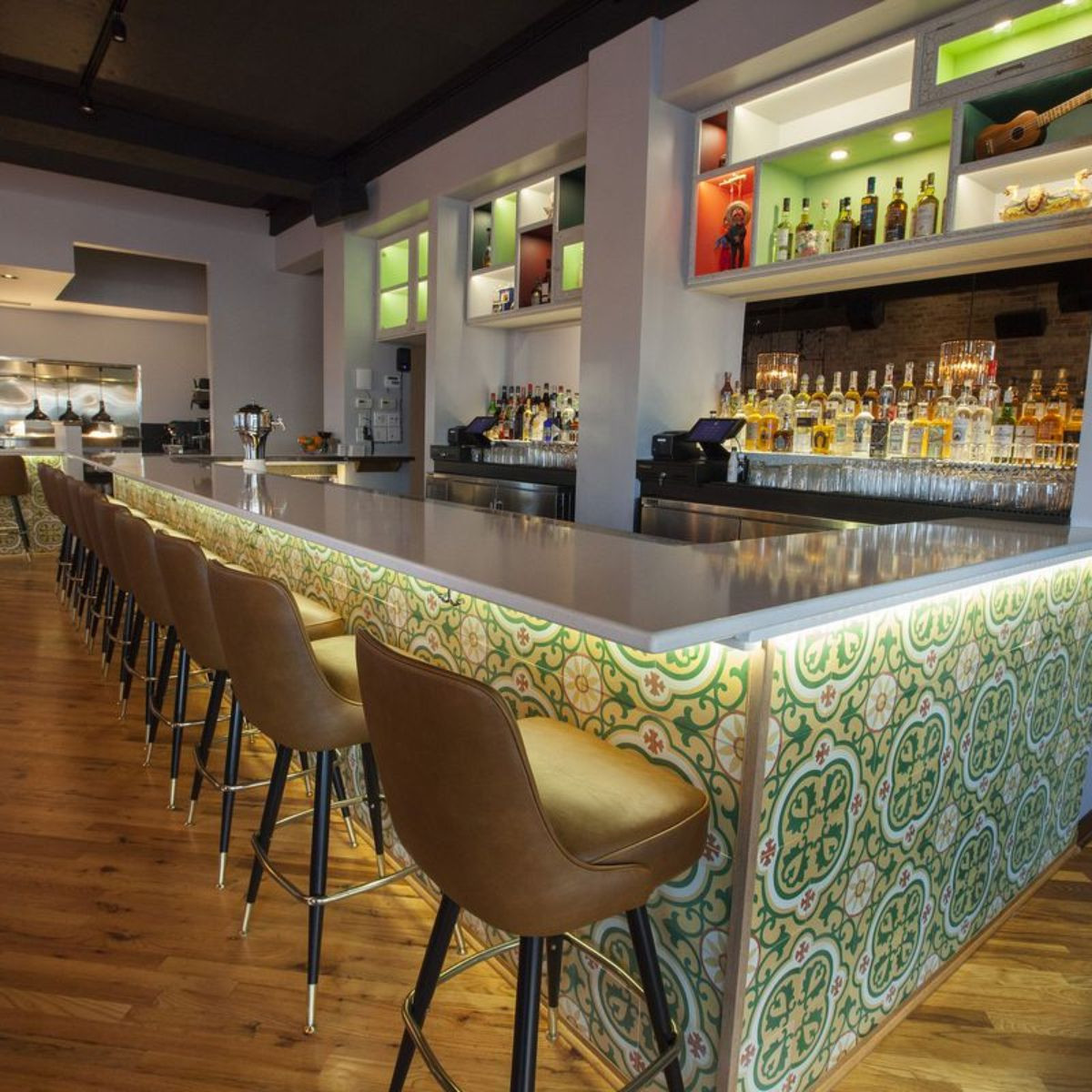 andrew p jones hardwood flooring of dos urban cantina restaurant chicago il opentable regarding 25099395