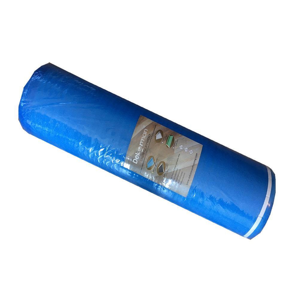 aquabar b hardwood flooring underlayment of dekorman laminate flooring blue foam underlayment 3 mm t x 3 3 ft w in dekorman laminate flooring blue foam underlayment 3 mm t x 3 3 ft w x 61