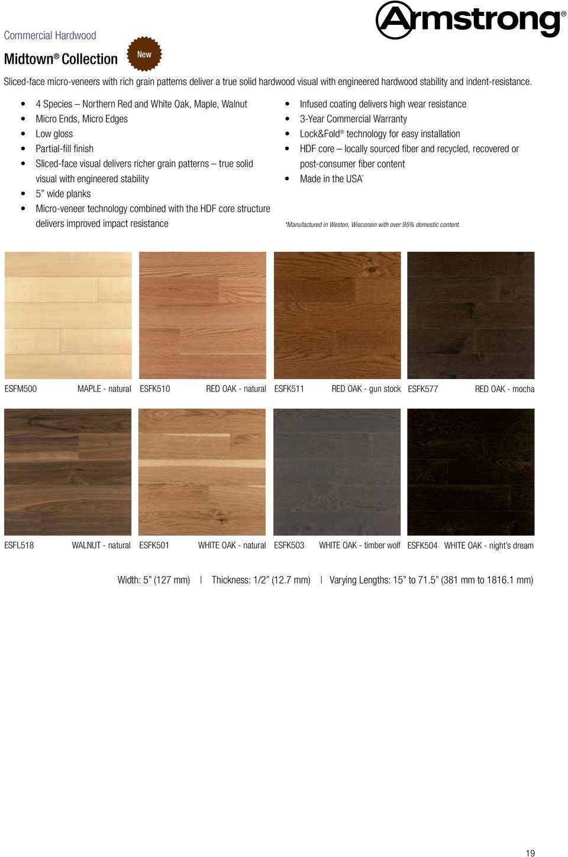 Armstrong White Oak Hardwood Flooring