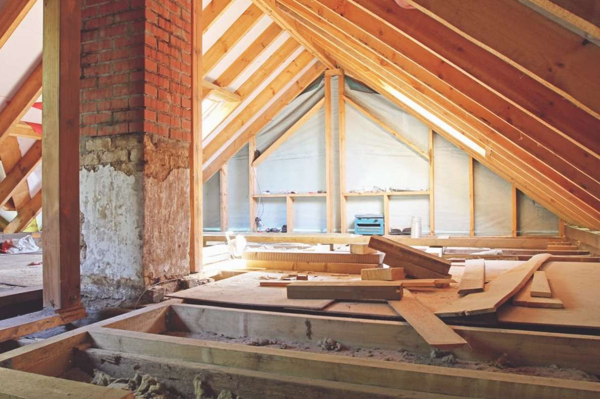 average price per square foot for hardwood floor installation of how to remodel an attic the ultimate guide contractor quotes intended for attic
