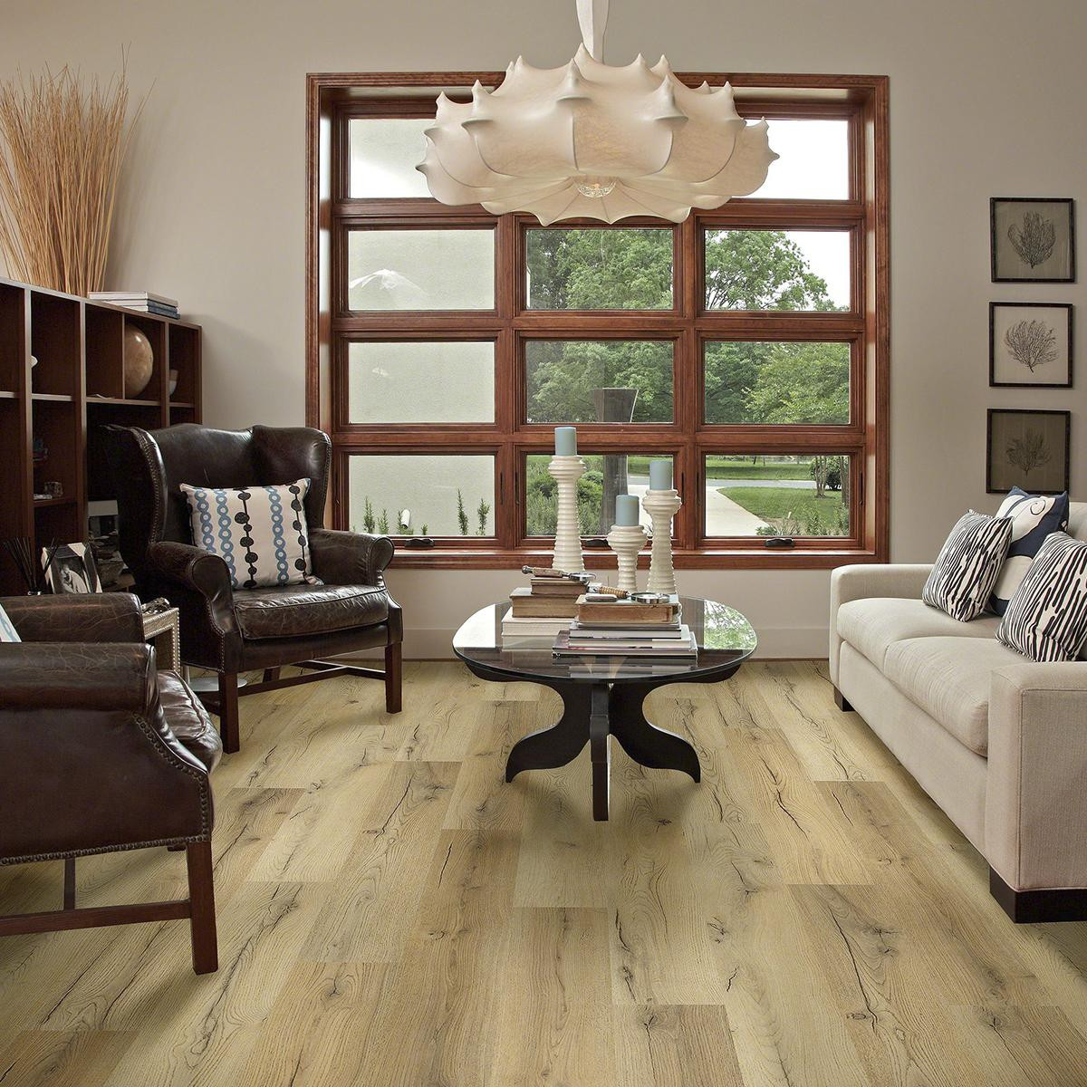 bamboo hardwood flooring durability of shaw vision works warm gold laminate nebraska furniture mart with regard to product image 0
