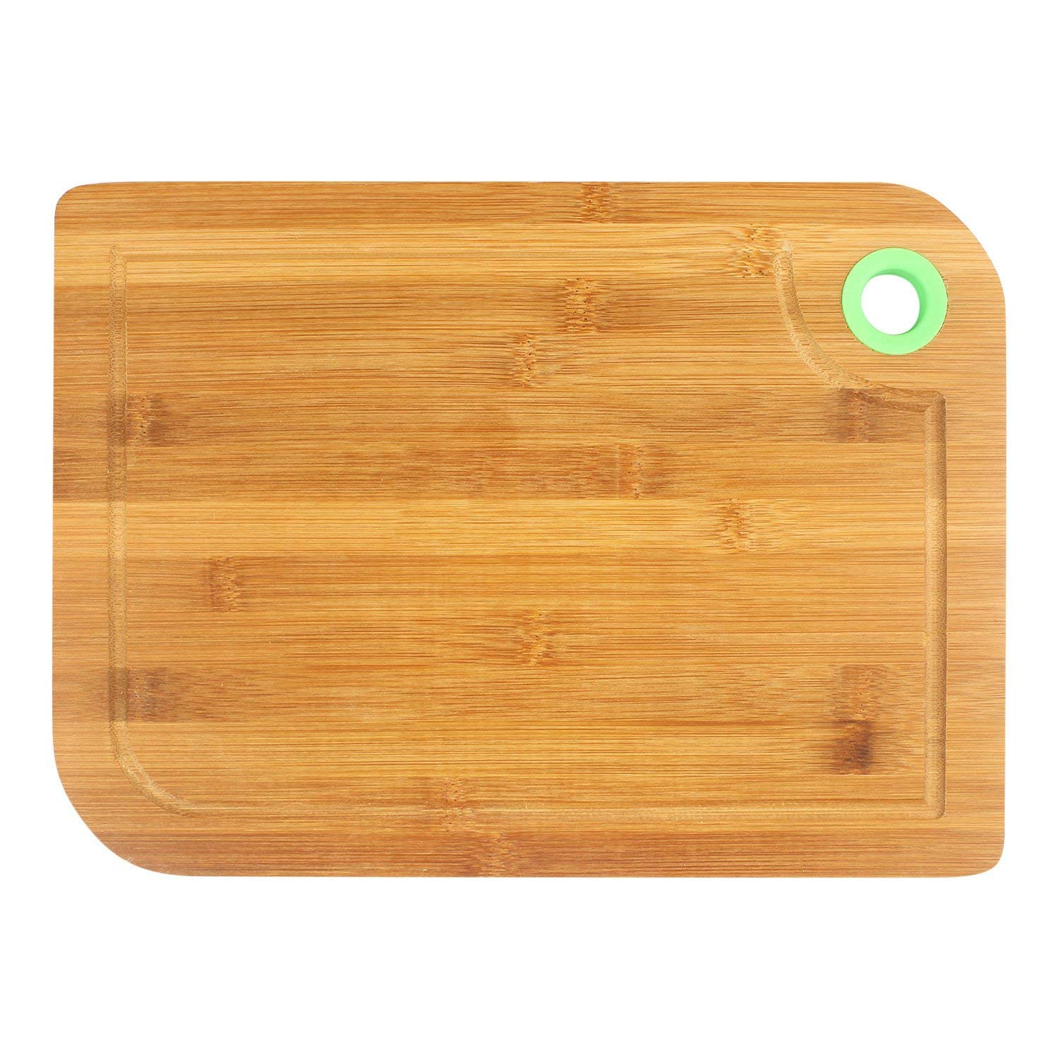 bamboo hardwood flooring reviews of buy hokipo thick bamboo wooden chopping board with finger hole intended for buy hokipo thick bamboo wooden chopping board with finger hole juice groove 33 x 23 cm online at low prices in india amazon in