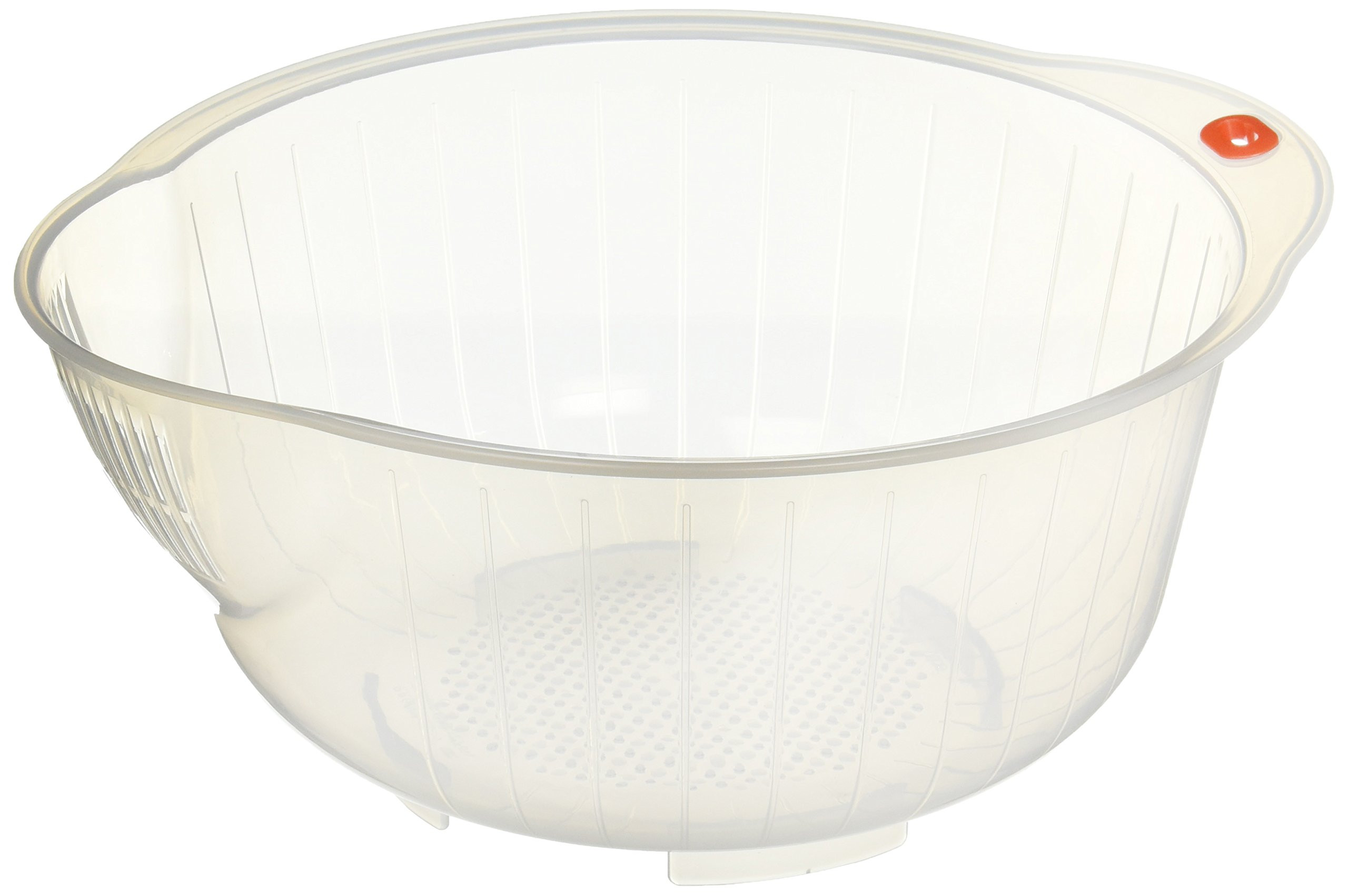 bamboo vs hardwood flooring resale value of best rated in rice bowls helpful customer reviews amazon com with regard to inomata 80800 japanese rice washing bowl with strainer 2 5 quart capacity