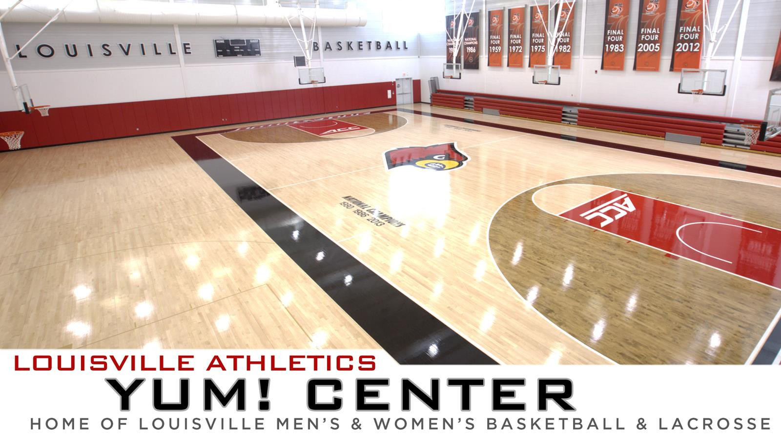 Basketball Hardwood Floor Cost Of Yum Center Facilities University Of Louisville Regarding View Full Image