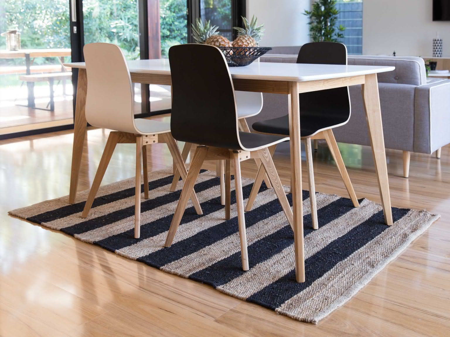 Best Hardwood Floors for Resale Value Of Mocka Rec Rug Living Decor Shop now within Rec Rug Black