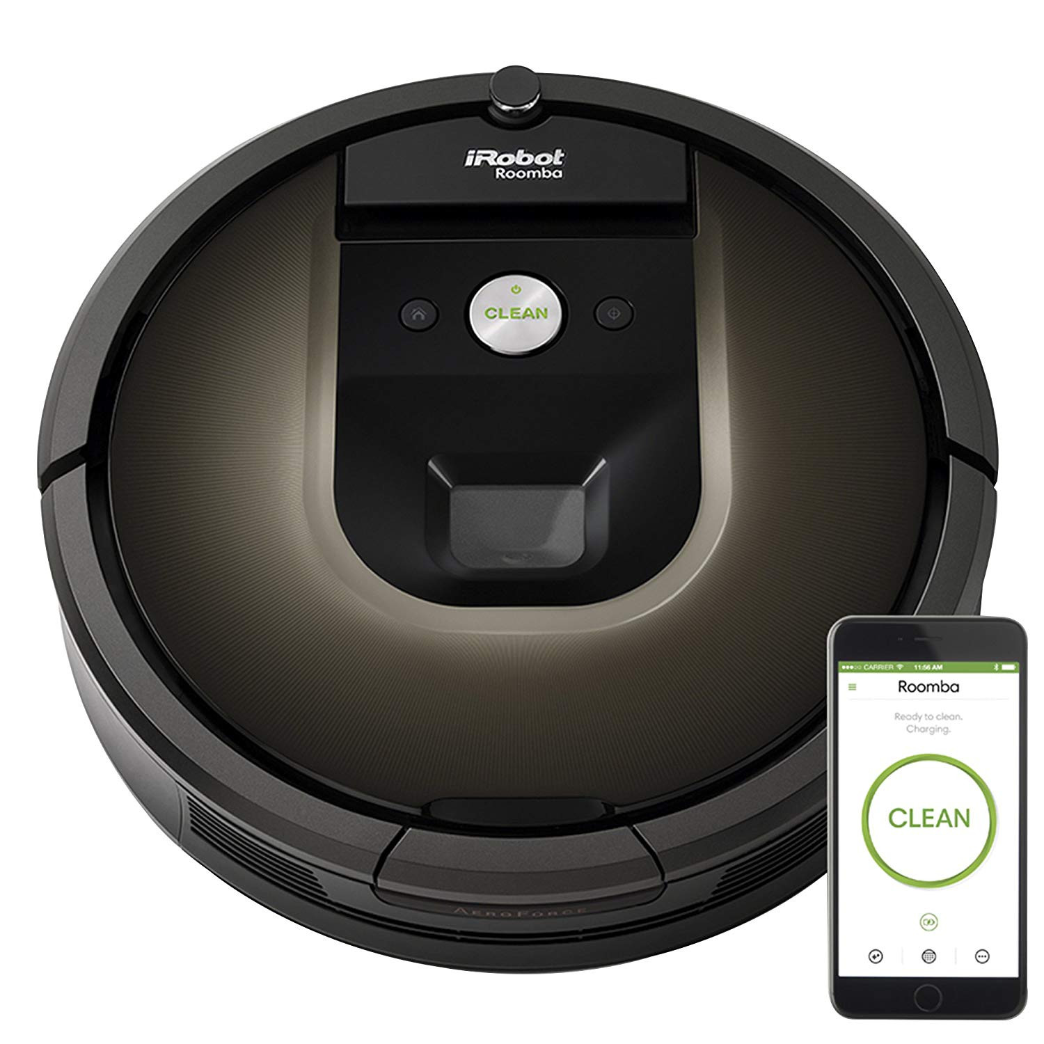 best robot vacuum for pet hair on hardwood floors of 7 best robot vacuums in 2018 with high quality cleaning intended for irobot roomba 980 robotic vacuum cleaner best robot vacuum cleaner for carpets