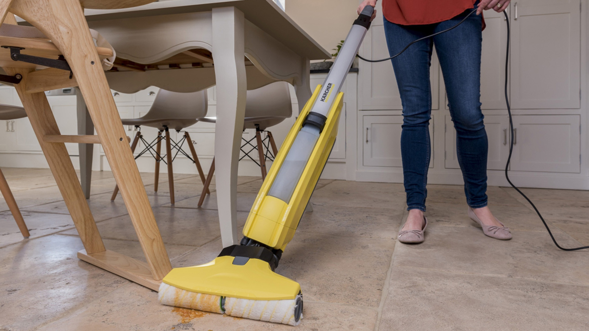 best vacuum for pet hair and hardwood floors 2017 of karcher fc5 hard floor cleaner review trusted reviews in karcher fc5 5 1