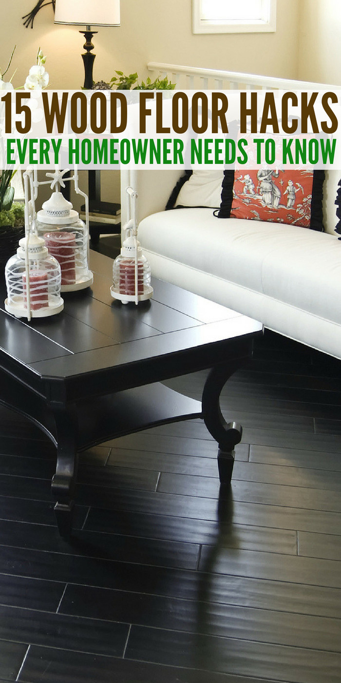 best vacuums for hardwood floors 2016 of 15 wood floor hacks every homeowner needs to know with regard to wood floors area great feature to have in a home if they are taken care
