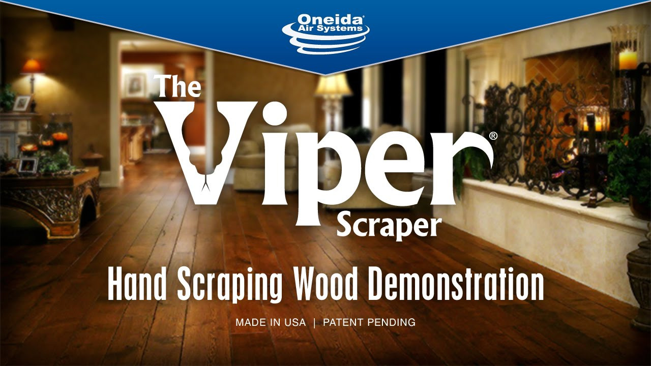 Best Way to Clean Hand Scraped Hardwood Floors Of Viper Scraper Hand Scraping Wood Demo Youtube Throughout Maxresdefault