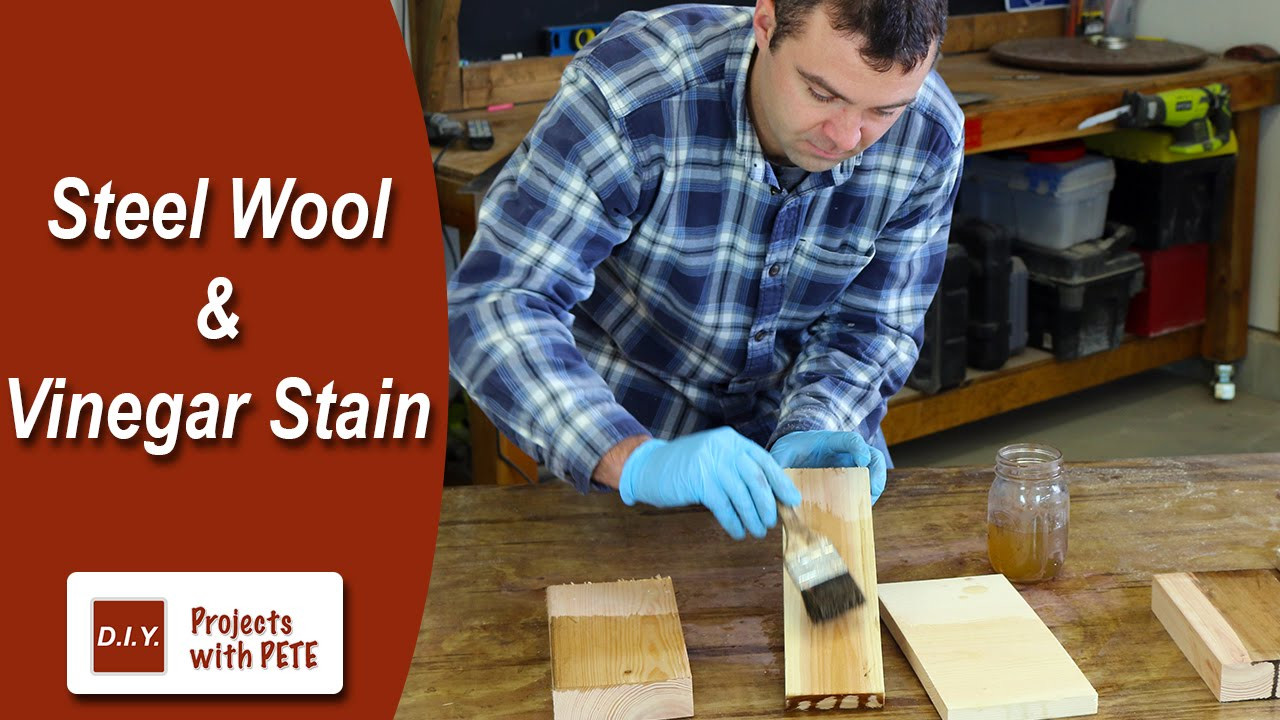 best wood filler for hardwood floors of how to make steel wool and vinegar stain youtube regarding how to make steel wool and vinegar stain