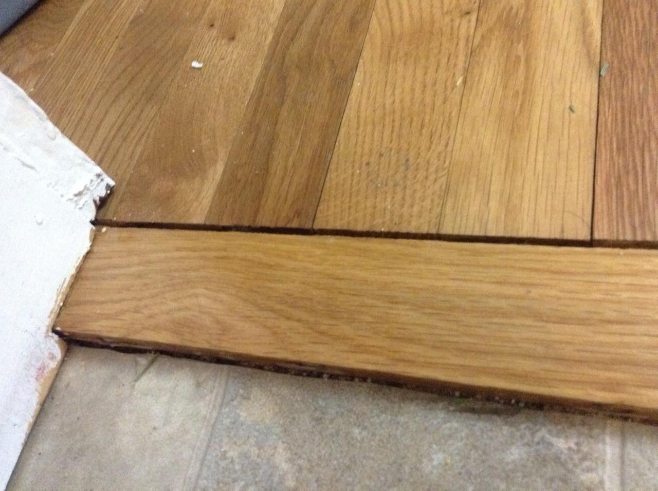 Best Wood Filler for Hardwood Floors Of Wood Floor Techniques 101 Intended for Gap Shrinkage Cork