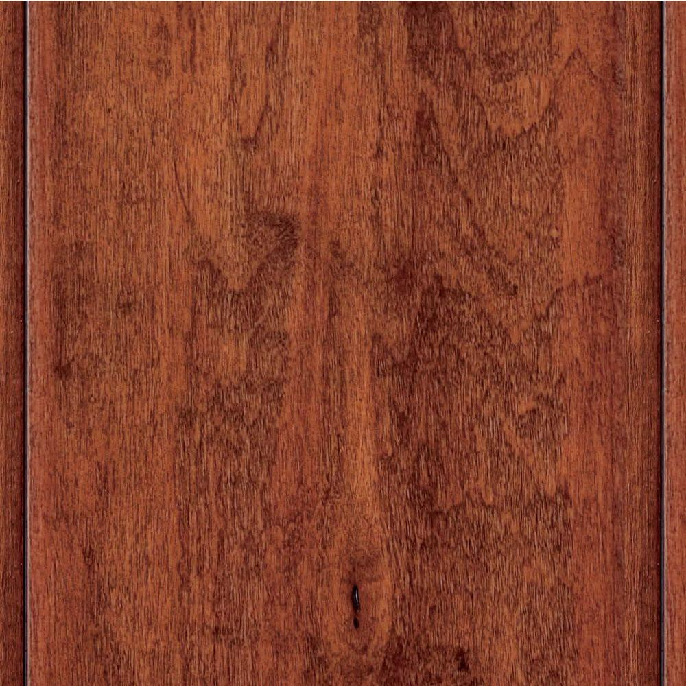 beveled edge hardwood flooring of home legend hand scraped natural acacia 3 4 in thick x 4 3 4 in pertaining to home legend hand scraped natural acacia 3 4 in thick x 4 3 4 in wide x random length solid hardwood flooring 18 7 sq ft case hl158s the home depot