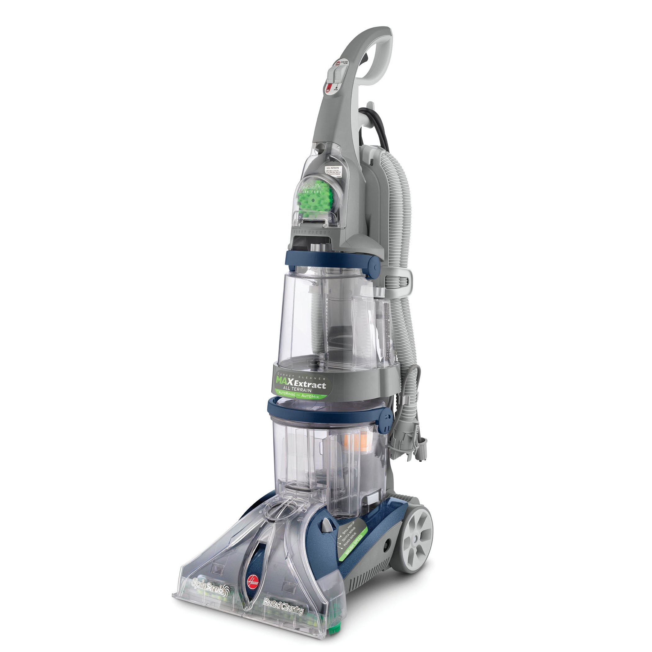 bissell hardwood floor cleaner of shop hoover f7452 900 steamvac all terrain 6 brush dual v deep intended for shop hoover f7452 900 steamvac all terrain 6 brush dual v deep cleaner free shipping today overstock com 3055261