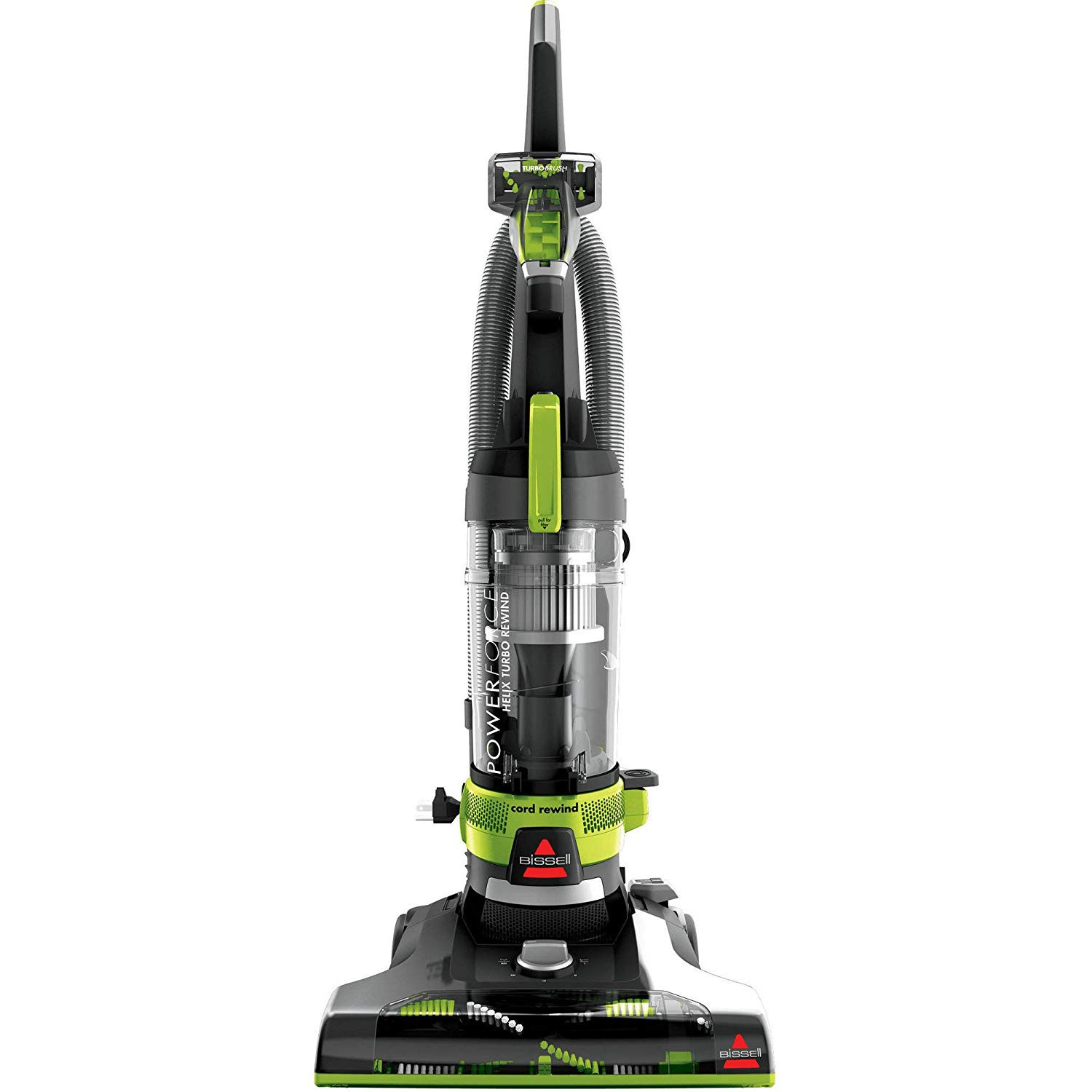bissell hardwood floor expert vacuum of amazon com bissell powerforce helix turbo rewind corded bagless for amazon com bissell powerforce helix turbo rewind corded bagless upright vacuum with free lysol all purpose cleaner 32 ounce