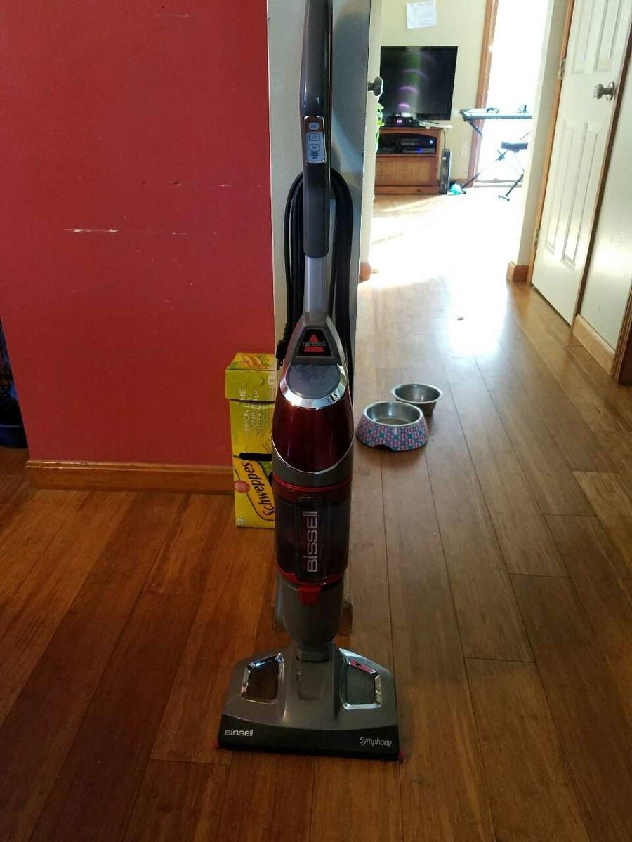 bissell hardwood floor steam cleaner of letgo bissell symphony vacuum steam mop in sebago lake me for bissell symphony vacuum steam mop