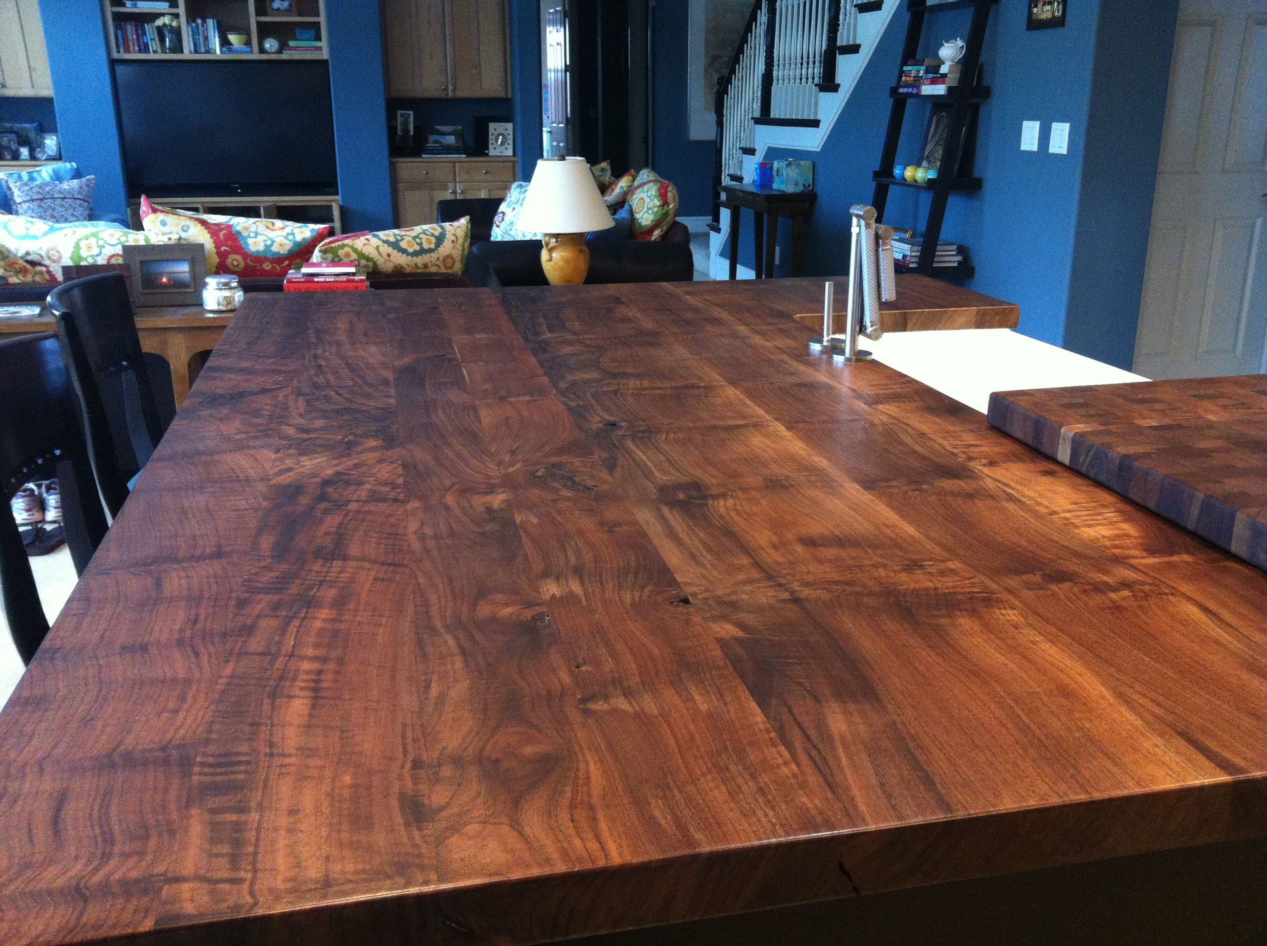 black walnut hardwood flooring of black walnut island top kitchen in 2018 pinterest kitchens with regard to black walnut island top