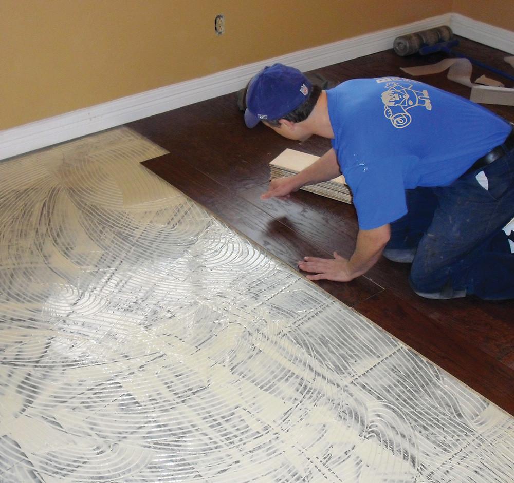 Hardwood Flooring Adhesive