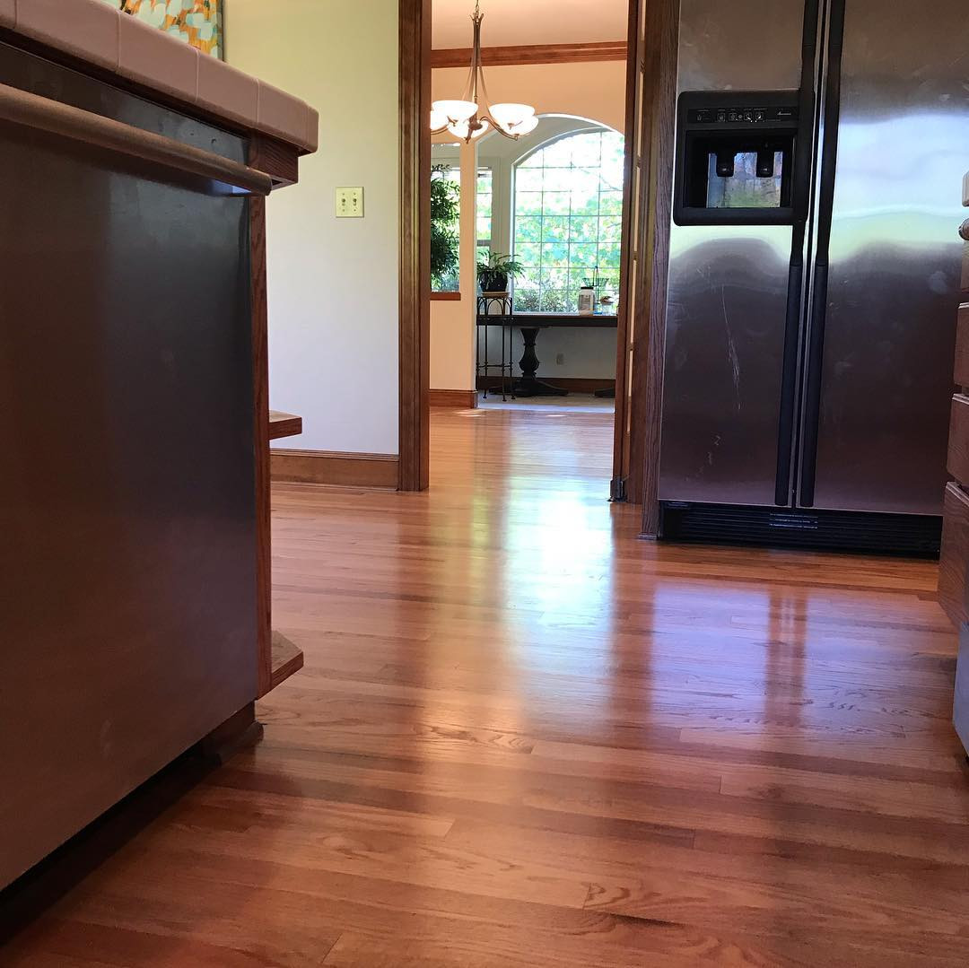 bostitch 2 in 1 hardwood flooring jack of greenpointewoodfloorsupplies hash tags deskgram intended for happy friday just wrapped up this refinish of a kitchen and dining room in this