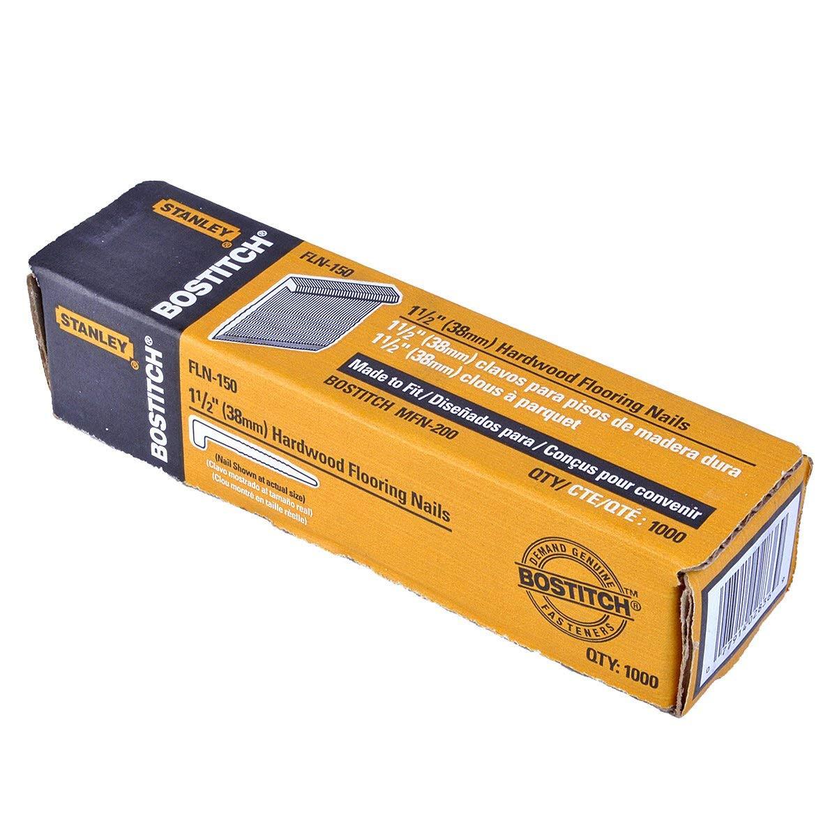 bostitch hardwood floor jack of bostitch fln 150 1 1 2 inch flooring l nails 1000 per box for bostitch fln 150 1 1 2 inch flooring l nails 1000 per box hardware staples amazon com