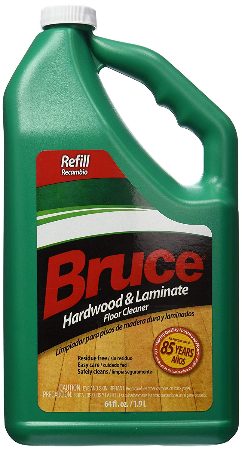 Bruce Hardwood Flooring Company Of Amazon Com Bruce Hardwood and Laminate Floor Cleaner for All No Wax Pertaining to Amazon Com Bruce Hardwood and Laminate Floor Cleaner for All No Wax Urethane Finished Floors Refill 64oz Home Improvement
