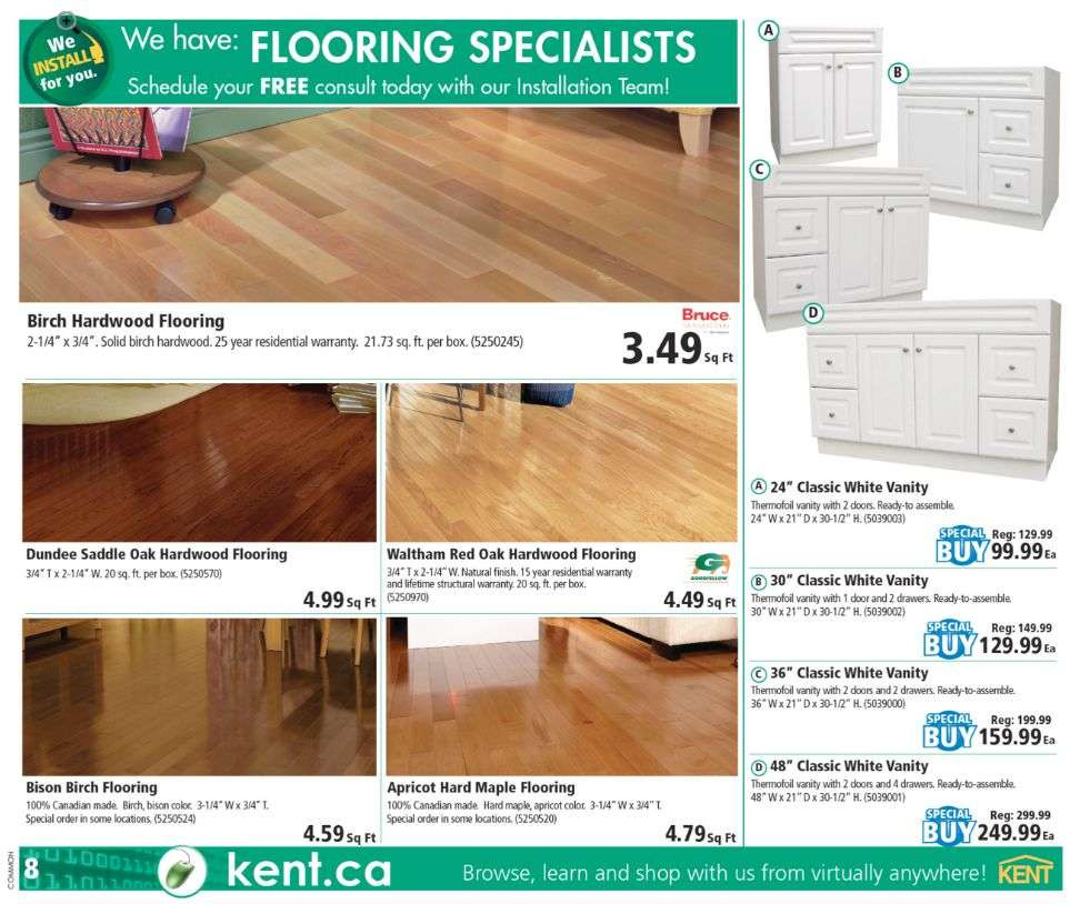 bruce hardwood floors saddle color of kent building supplies flyer may 25 to 31 pertaining to view single