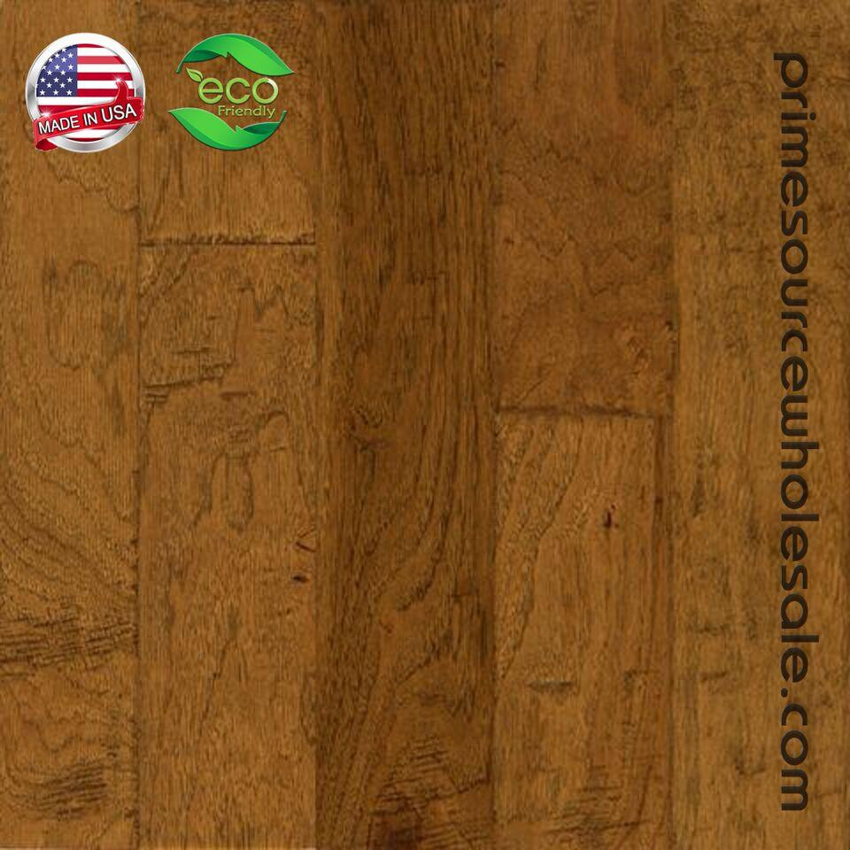 bruce prefinished hardwood flooring reviews of bruce frontier hand scraped hickory 5 hardwood on sale now inside eel5200 golden brown hickory wide plank 375x5engineered plank 1