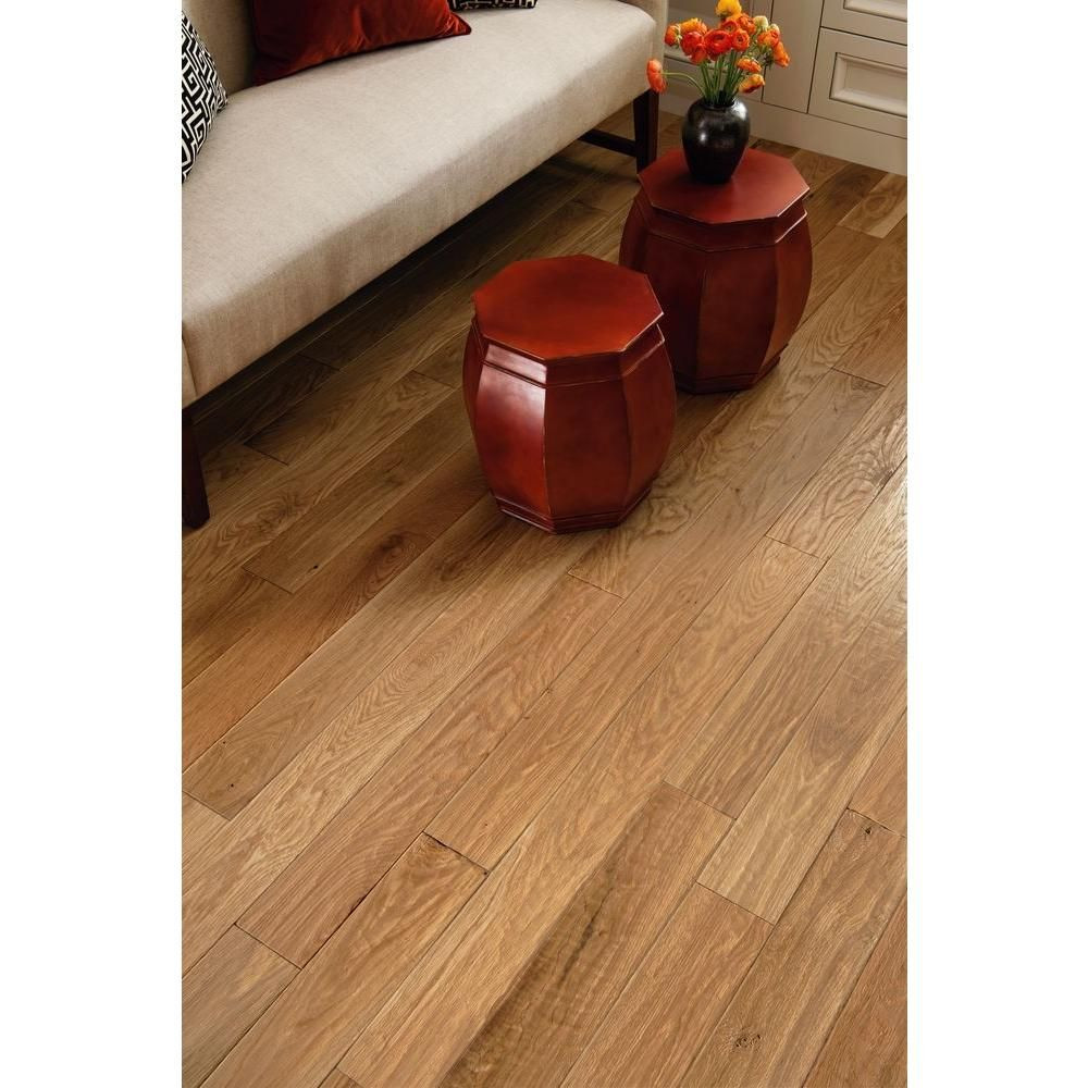 bruce white oak hardwood flooring of bruce american vintage nat white oak 3 4 in thick x 5 in w x for bruce american vintage nat white oak 3 4 in thick x 5 in wide x random length solid scraped hardwood floor23 5 sq ft case samv5na the home depot