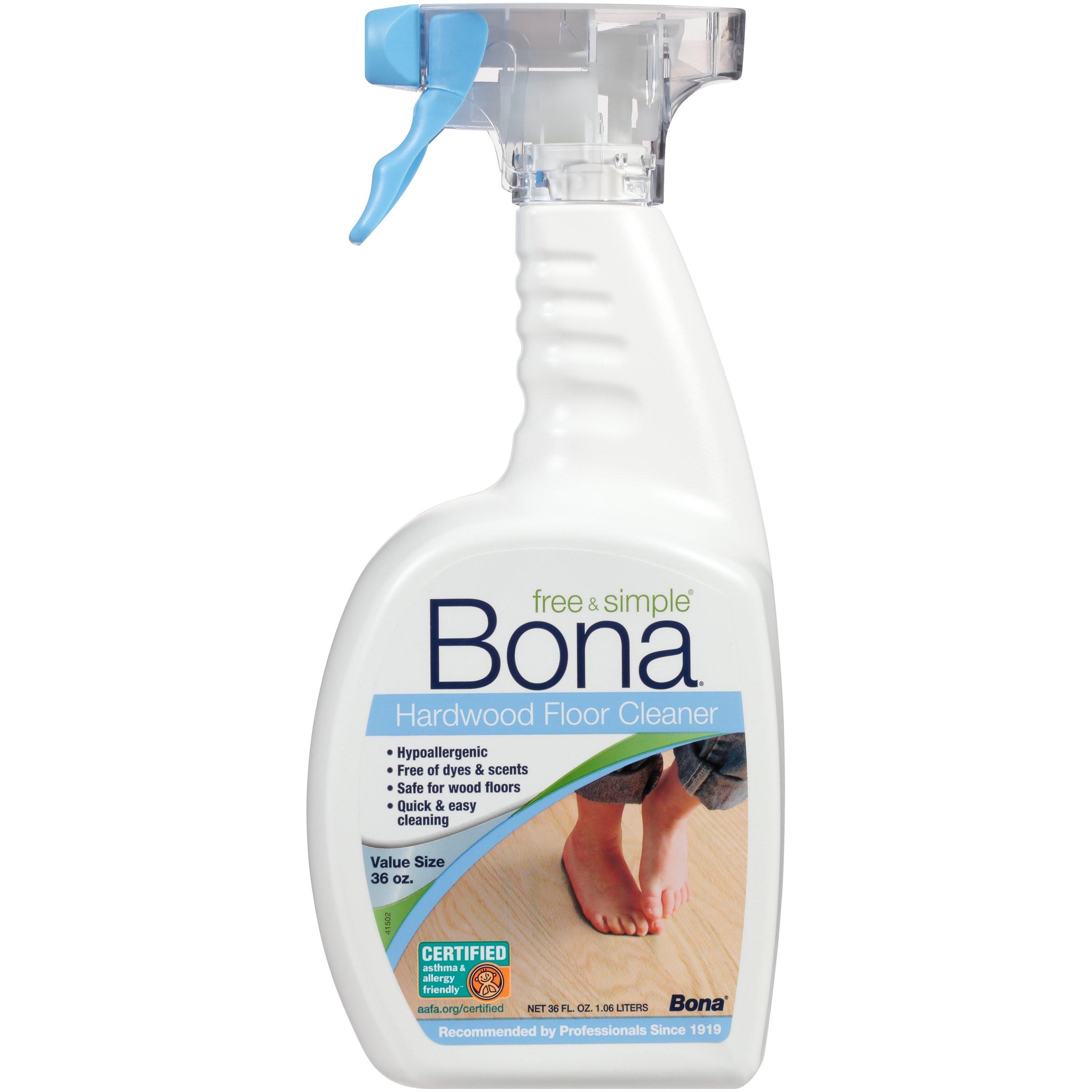 buy bona hardwood floor cleaner of amazon com bona wm700018182 free simple hardwood floor cleaner inside bona free simple hardwood floor cleaner 36oz spray