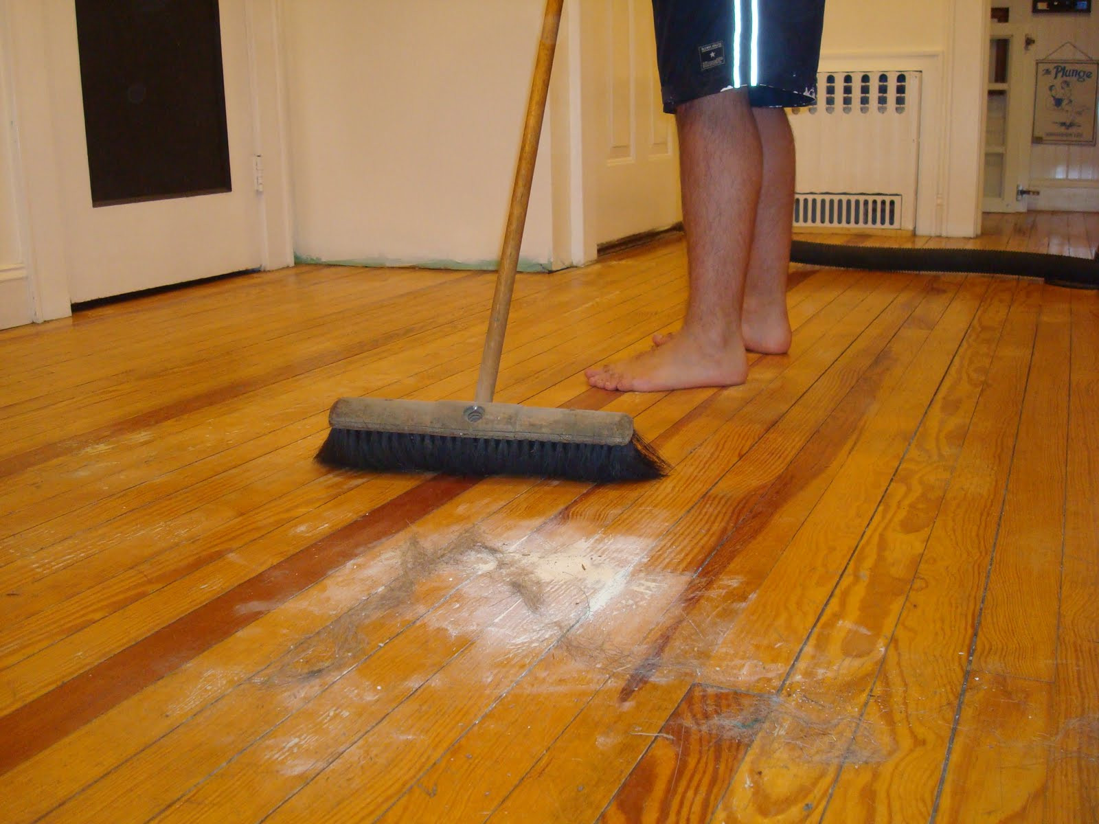 Hardwood Floors with Vinegar and Water