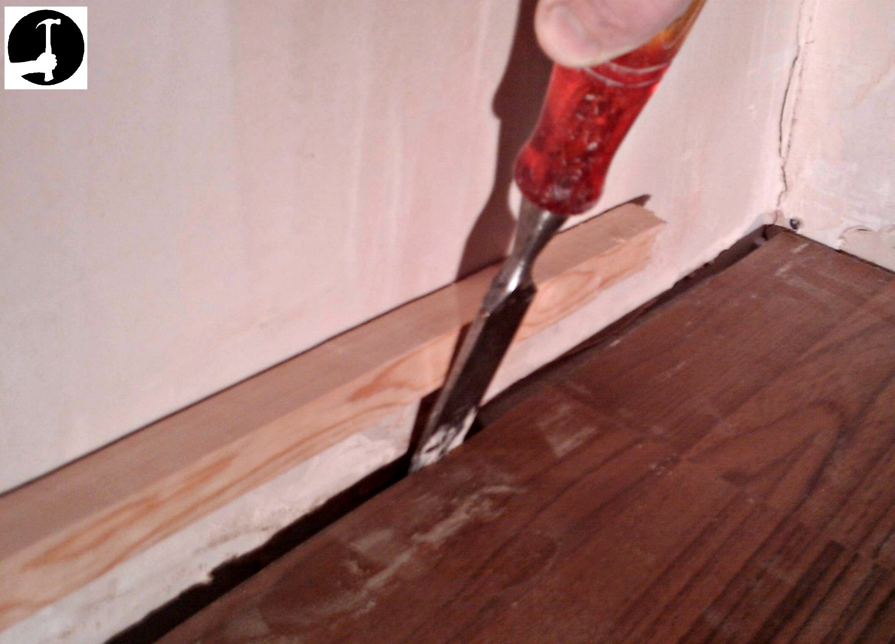 can you glue hardwood floor to concrete of how to install laminate flooring with ease glued glue less systems within how to get the last floor board in