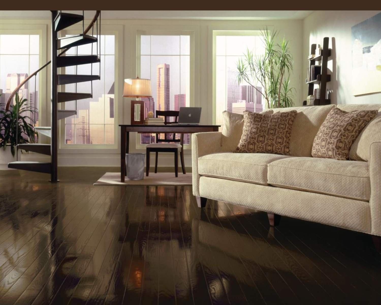 Canadian Hardwood Flooring Reviews Of top 5 Brands for solid Hardwood Flooring In A Living Room with Bruce Espresso Oak Flooring