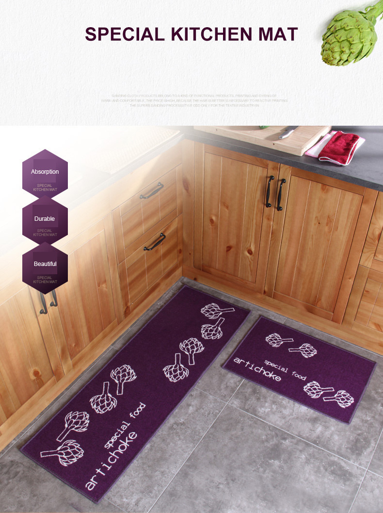 carpet runners for hardwood floors of 2 piece non slip kitchen mat rubber backing doormat runner rug set intended for 2 piece non slip kitchen mat rubber backing doormat runner rug set 4060cm40120cm