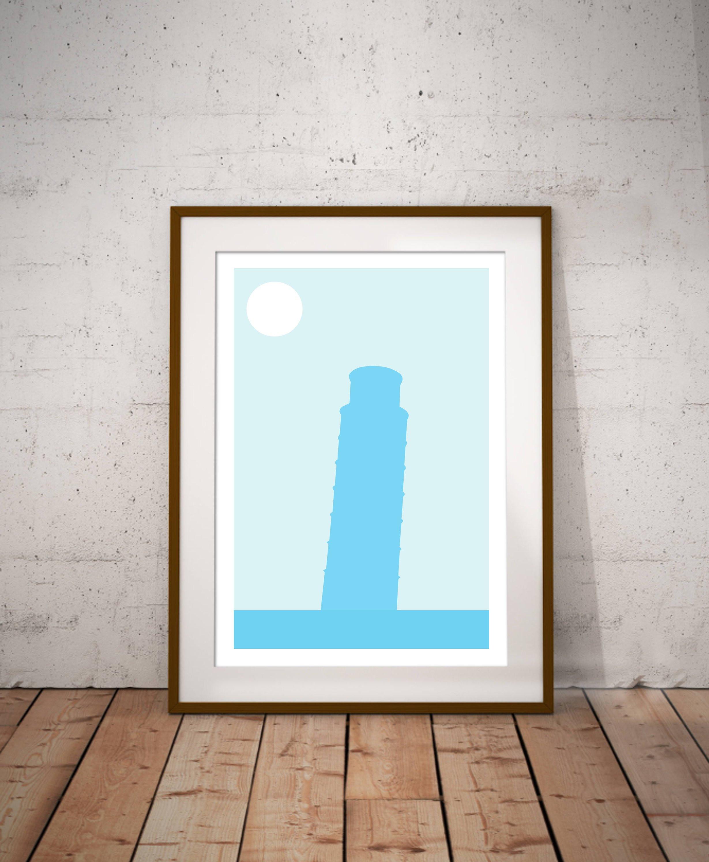 "cheap hardwood flooring glasgow of the leaning tower of pisa minimalist art print italian city etsy regarding dŸ""Žzoom"