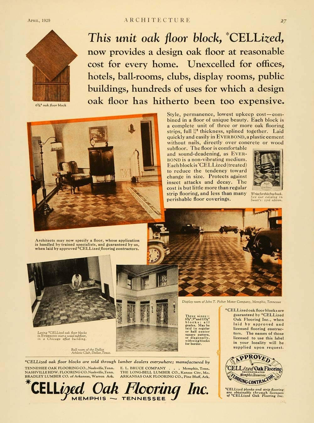 Cheap Hardwood Flooring In Dallas Tx Of Amazon Com 1929 Ad Cellized Oak Wood Flooring Home Improvement with Regard to Amazon Com 1929 Ad Cellized Oak Wood Flooring Home Improvement Dallas athletic Club Floors original Print Ad Entertainment Collectibles