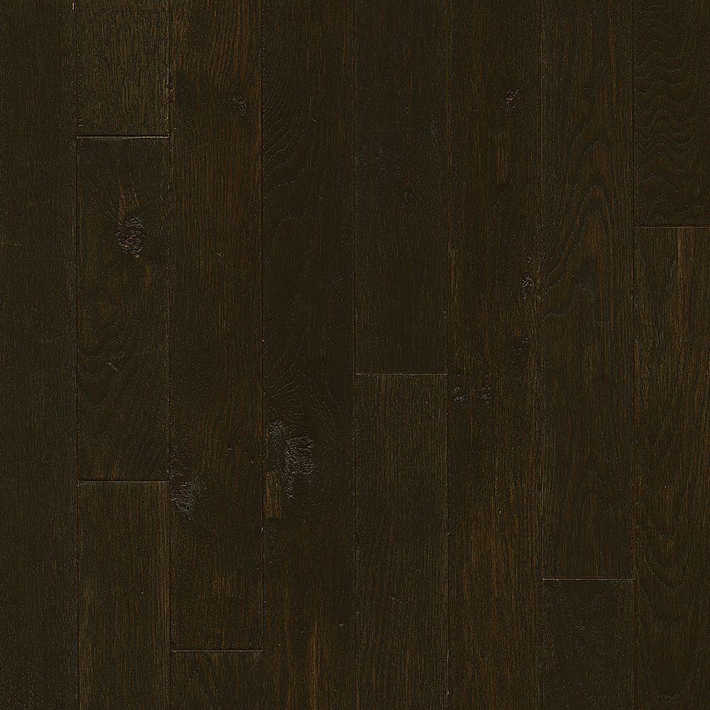 cheap hardwood flooring seattle of red oak solid hardwood hardwood flooring the home depot within plano oak espresso 3 4 in thick x 3 1 4 in