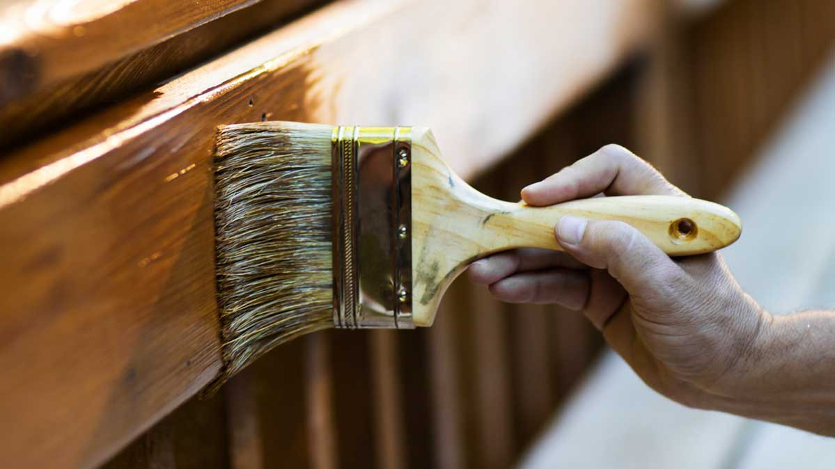 choosing stain color for hardwood floors of best wood stains from consumer reports tests consumer reports inside applying a wood stain to a deck