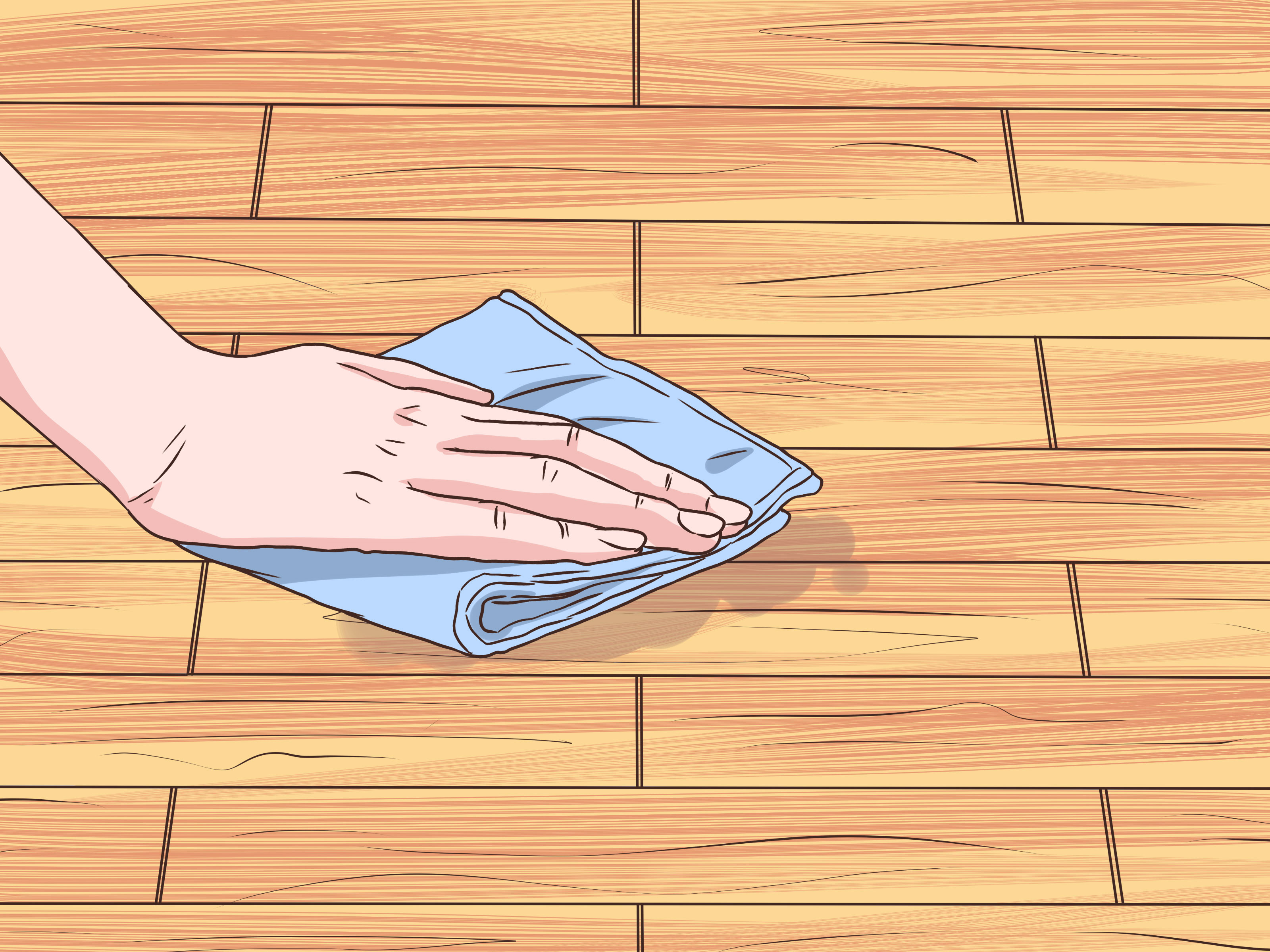 clean and wax hardwood floors of how to clean sticky hardwood floors 9 steps with pictures pertaining to clean sticky hardwood floors step 9