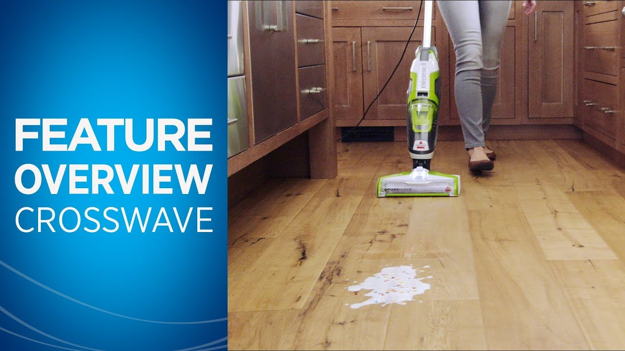 "cleaning hardwood floors with vinegar and baking soda of how to use crosswavea""¢ youtube throughout how to use crosswavea""¢"