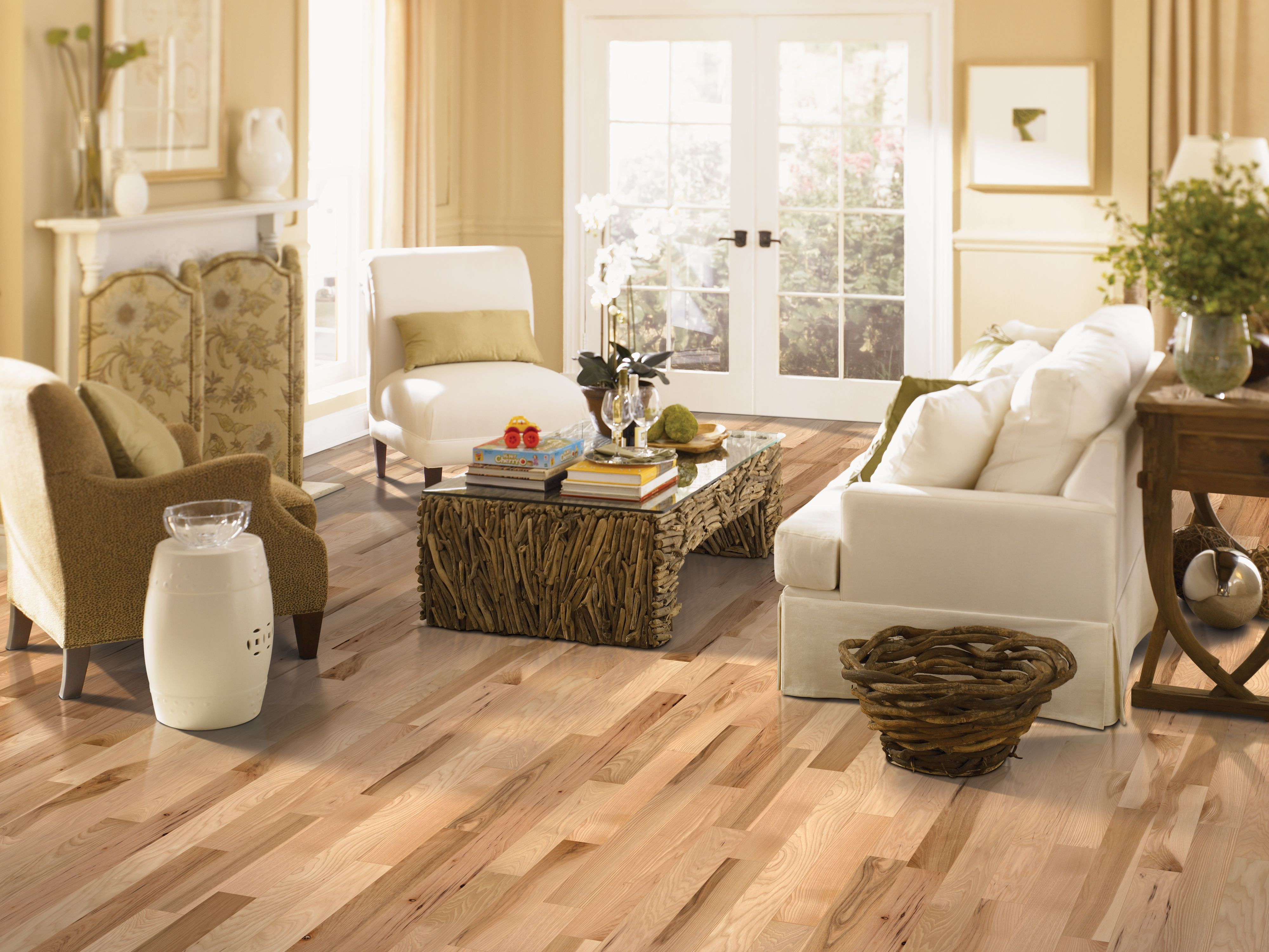 cleaning mohawk engineered hardwood floors of love how much sunlight this living area gets different shades of within berry hill hickory natural in mohawk flooring hardwood find at lumber mart carpet girl brians flooring in egf carpet garage