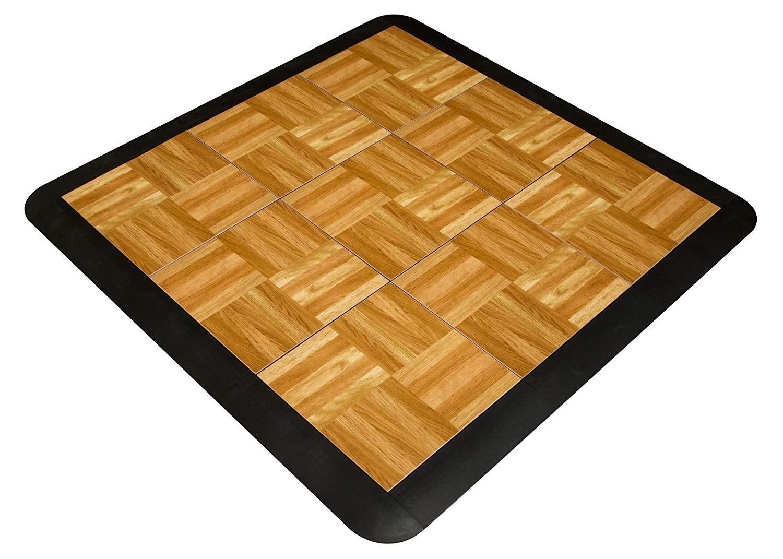 cost to install oak hardwood floors of snapfloors 3x3oakfloor modular dance floor kit 3 x 3 oak 21 pertaining to snapfloors 3x3oakfloor modular dance floor kit 3 x 3 oak 21 piece amazon com