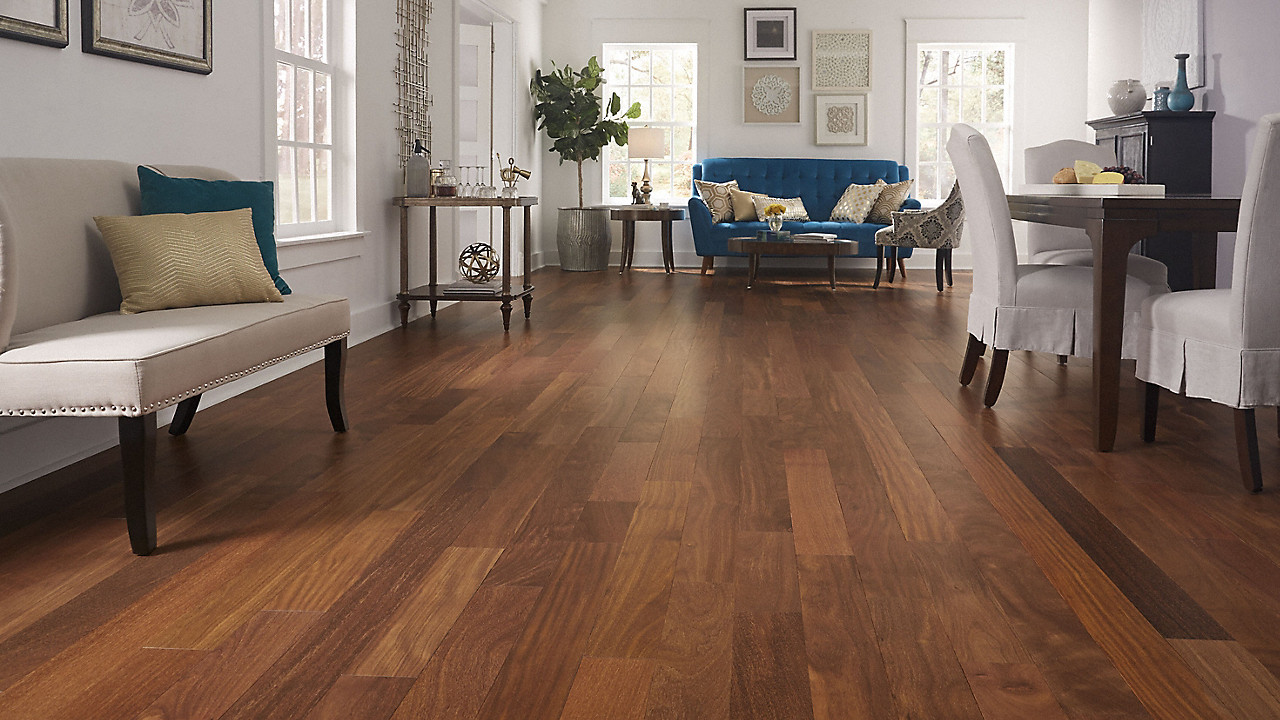 cost to lay hardwood floor of 3 4 x 3 1 4 matte brazilian chestnut bellawood lumber liquidators inside bellawood 3 4 x 3 1 4 matte brazilian chestnut